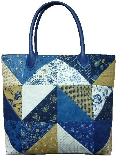Tote bag pattern from The Bramble Patch