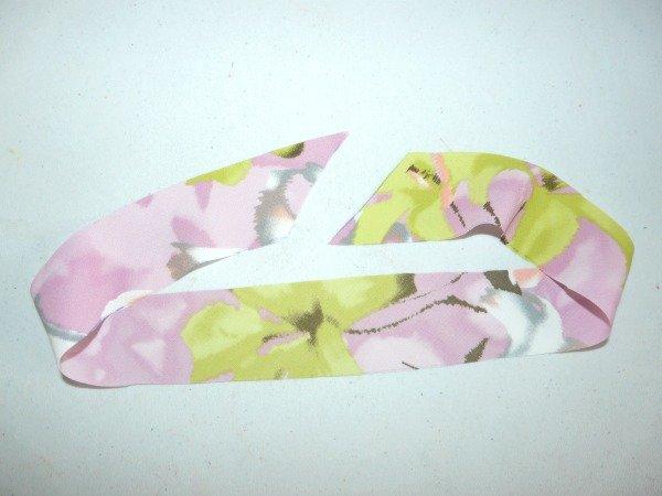 Construct a neckband piece