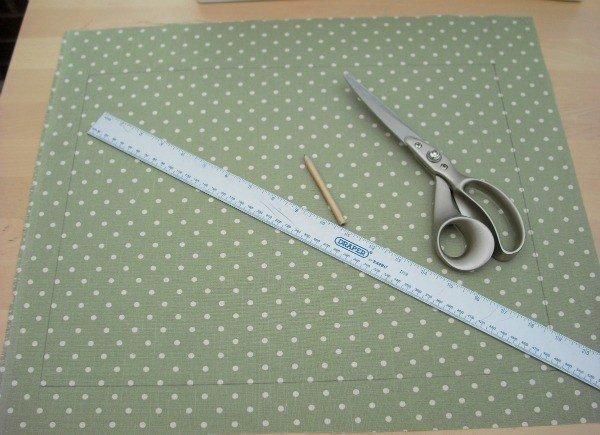 Making a cushion pattern