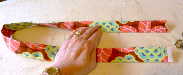 How to make fabric handles for a bag