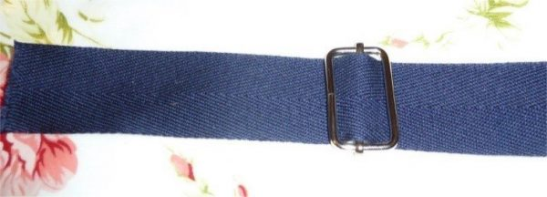 How to sew an adjustable bag strap