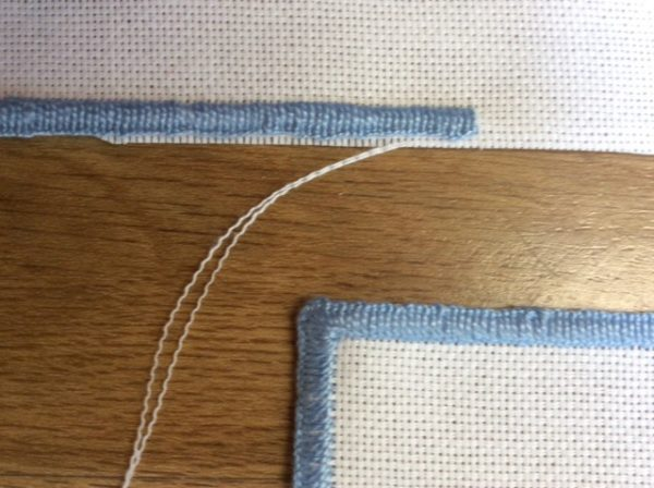 Counted thread embroidery