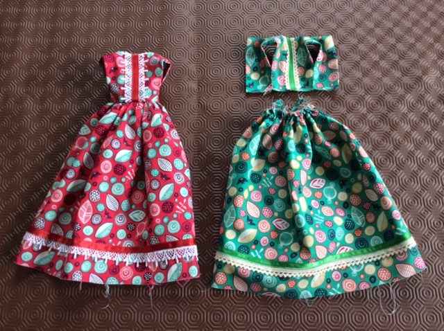 How to make a doll's skirt