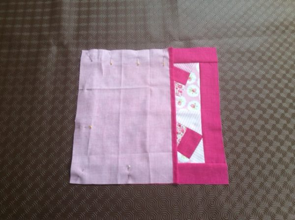 How to sew an envelope back scrap cushion