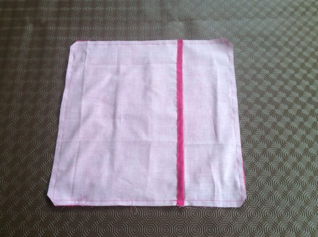 How to make an envelope back cushion