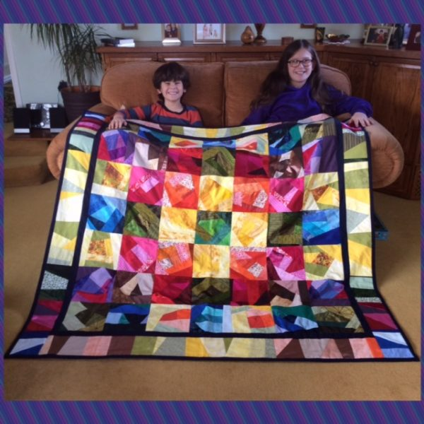 Free improv quilt pattern
