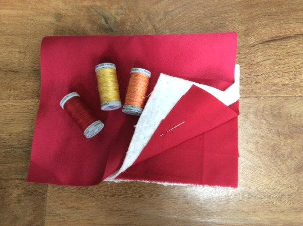 how to make a quilted sample