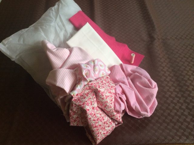 Scrappy cushion project