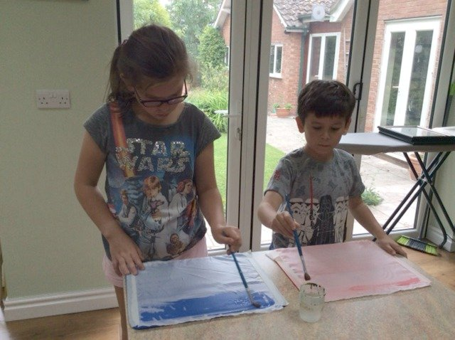 Textile crafts to do with kids
