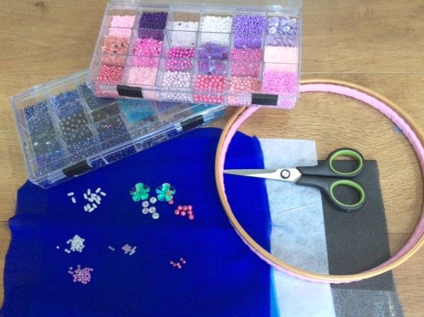 Supplies for beadwork