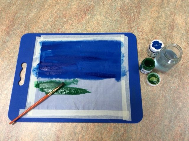 How to silk paint