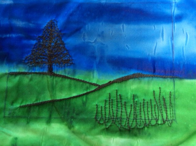 How to embroider pictures using your sewing machine