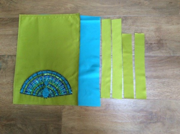How to make a clutch bag - step by step instructions