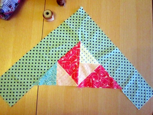 Adding a border to patchwork