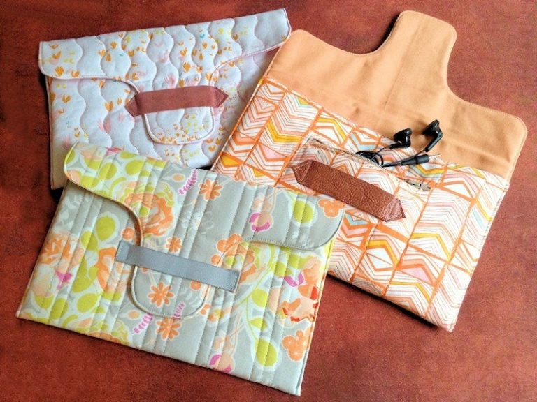 Easy project to sew n iPad/tablet case