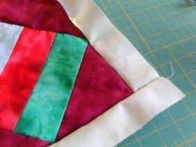 Sew a quilt border