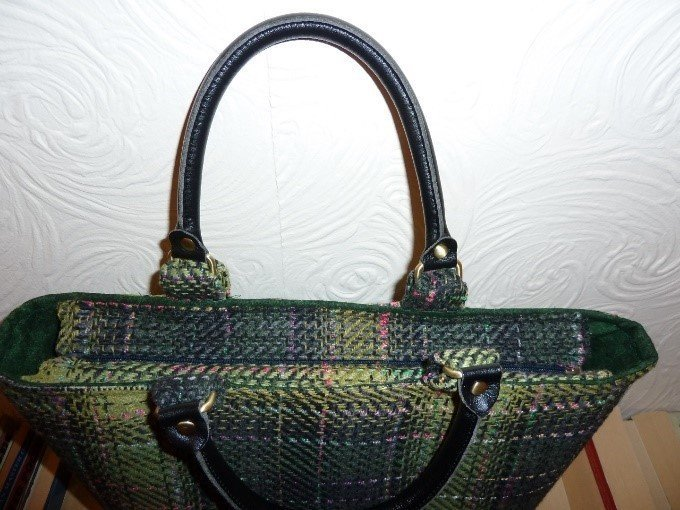 Buy leather or faux leather handles for bags