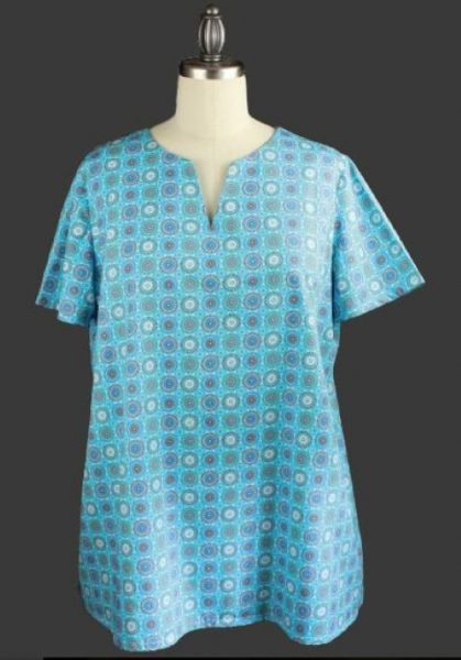 Free pattern for a smock top