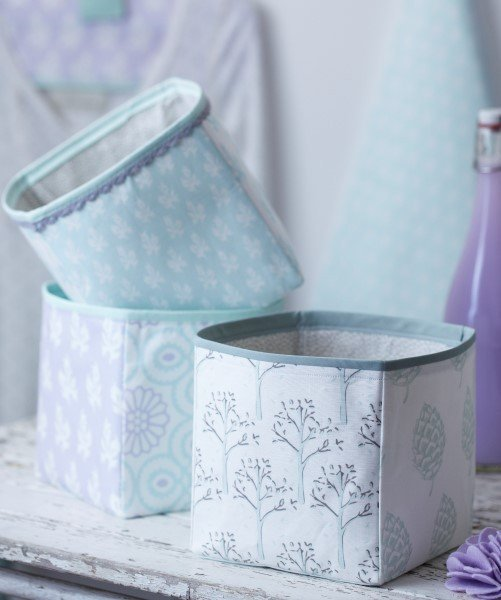 Torie Jayne fabric baskets