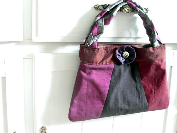 Sew a small evening bag