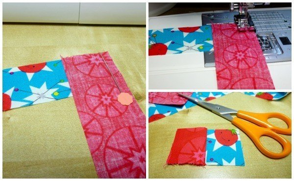 How to sew a scrappy needlebook
