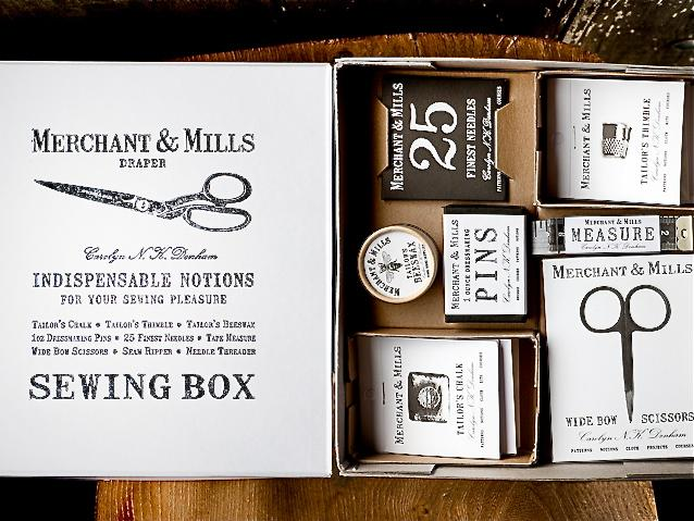 Merchant and Mills Sewing Kit