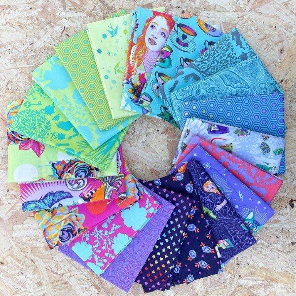 Tula Pink fabric bundles