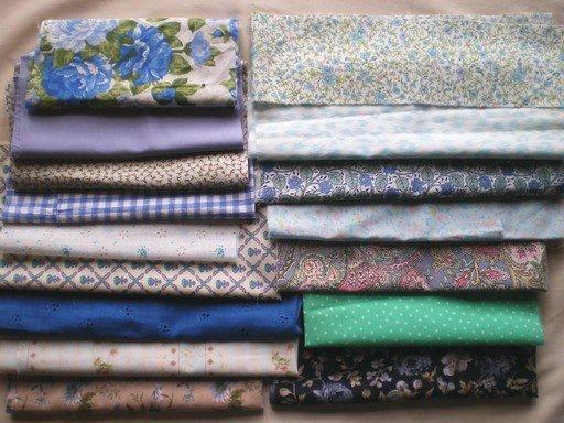 Vintage fabric bundles