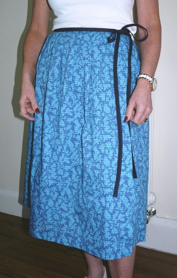 Wrap skirt from Bobbins n Buttons