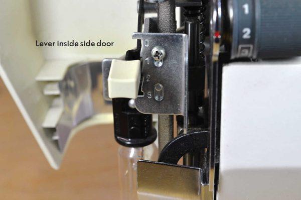 Different ways to adjust sewing machine pressure