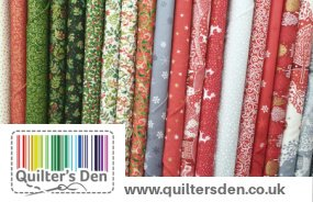 Christmas Fabrics from the Quilter's Den