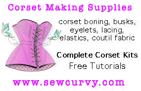 Corset making supplies
