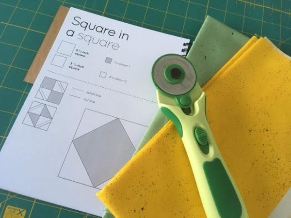 Quilting planner made in the UK