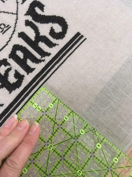 The easy way to frame an embroidery