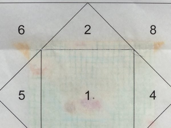 Easy to tear foundation paper for quilters