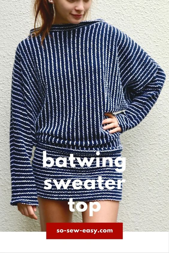 Free sweater pattern for sergers/overlockers