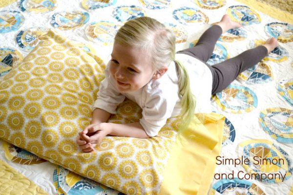 Easy to sew pillowcases