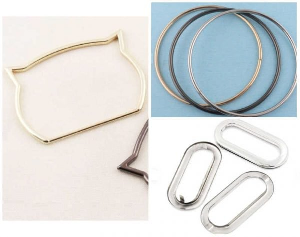 How to use metal bag fastenings