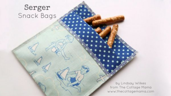Reusable snack bag project