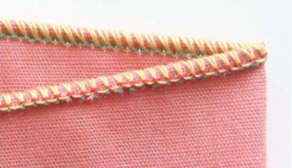 How to sew a rolled hem on an overlocker/serger