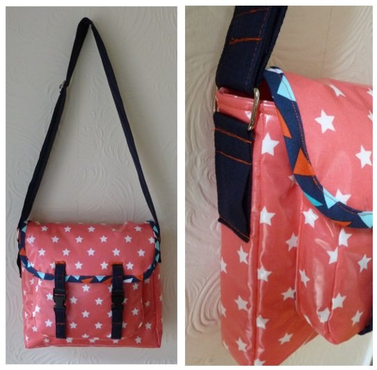 Quick and easy way to make bag straps