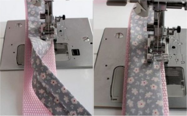 Fabric and wadding bag strap tutorial