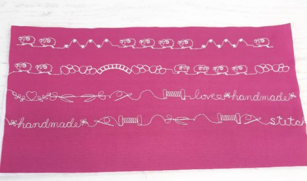 How to do decorative stitches with your sewing machine