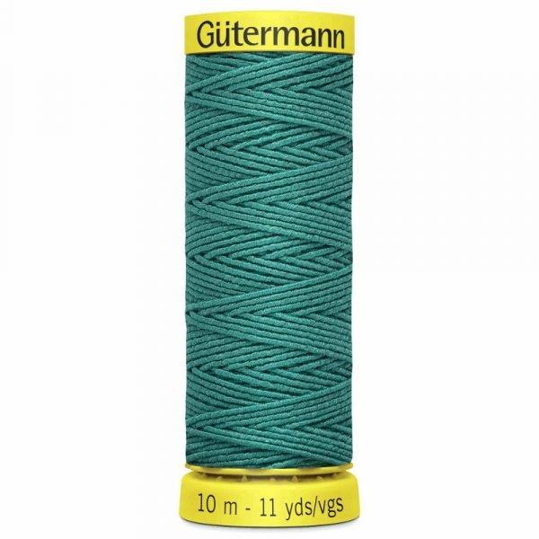 Elastic thread for shirring