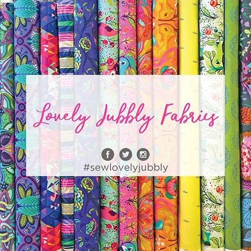 Lovely Jubbly Fabrics modern quilting fabrics
