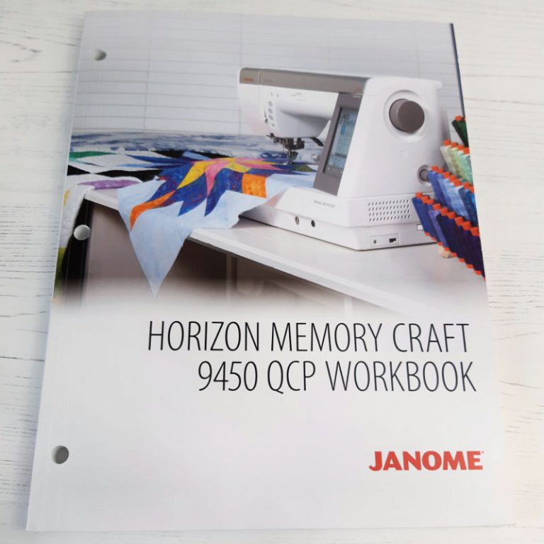 Janome MC9450QCP Workbook review