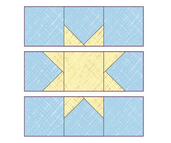 Free wonky quilt patterns