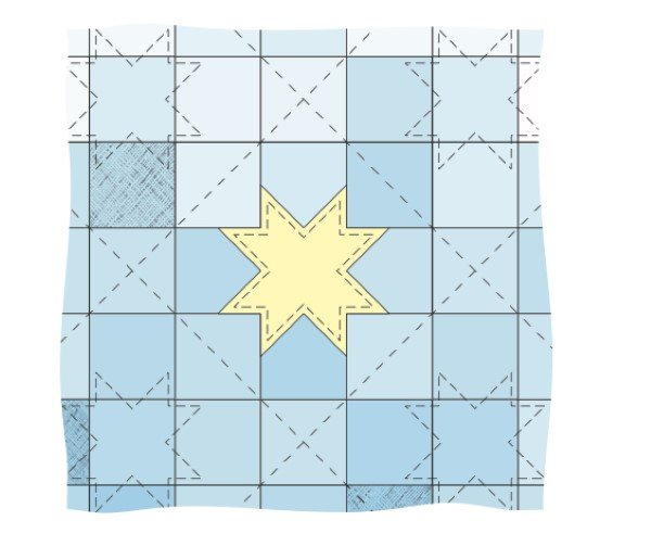 Ideas for hand quilting and echo quilting