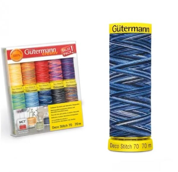 When to use variegated threads