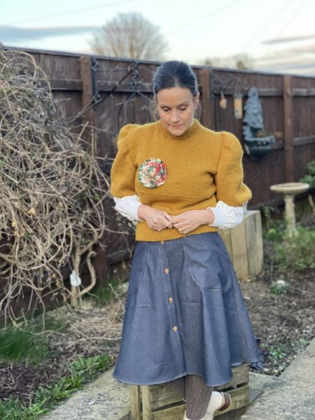 Best sewing pattern for a denim skirt